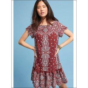 Anthropologie Ynez Tunic Dress NWOT